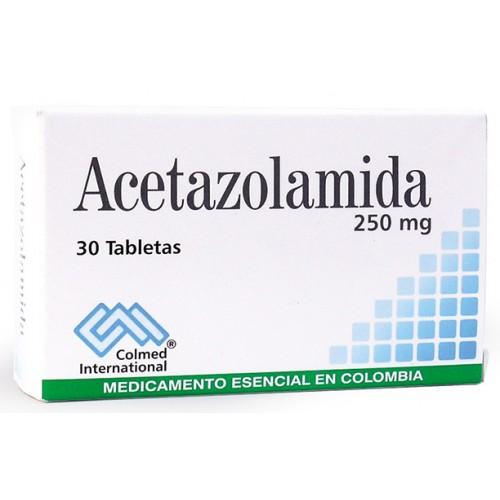 pierderea în greutate acetazolamidă